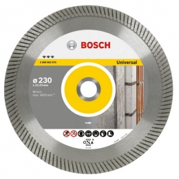 Diamantový dělicí kotouč Best for Universal Turbo 115x22.23/2.2x12 mm Bosch