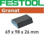 Brusná houba Festool Granat 69x98x26 120 CO GR/6