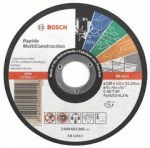 Řezný kotouč BOSCH Rapido Multiconstruction 125x1.6x22.23mm